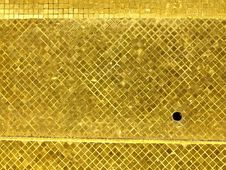 Free Golden Tile Surface Stock Photo - 36412170