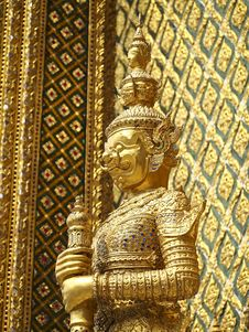 Thai Giant Decoration Stock Photography