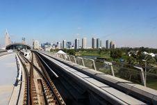 Free Metro Rail Network Through City Royalty Free Stock Photography - 36414187