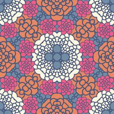 Free Floral Seamless Pattern Royalty Free Stock Images - 36414659
