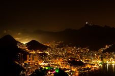 Free Night View Of Rio De Janeiro Stock Photos - 36415913