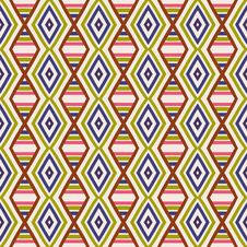 Free Seamless Geometric Pattern Royalty Free Stock Images - 36416529