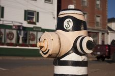 Free Painted Fire Hydrant Royalty Free Stock Images - 36417829