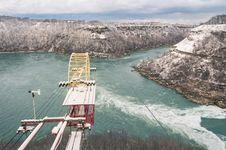 Free Whirpool At Niagara River - Winter Time Royalty Free Stock Images - 36418669