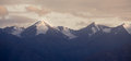 Free Panorama Snow Mountain Sunset Royalty Free Stock Image - 36422856