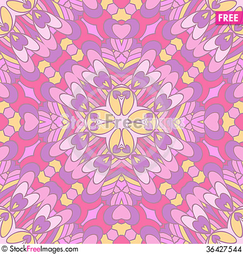 Free Colorful Oriental Pattern Stock Images - 36427544