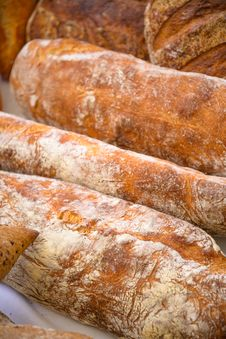 Free Loafs Of Bread Royalty Free Stock Image - 36421966