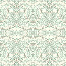 Free Hand-Drawn Henna Mehndi Abstract Pattern. Stock Image - 36422501