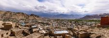 Panorama Of Leh Ladakh Stock Photo