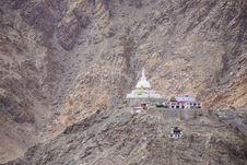 Free Shanti Stupa Royalty Free Stock Image - 36422796