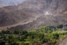 Free Shanti Stupa Stock Image - 36422831