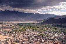Free Cityscape Leh Ladakh Royalty Free Stock Photo - 36422845