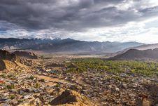 Free Cityscape Leh Ladakh Royalty Free Stock Photos - 36422848