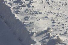 Free Snow Ledge Stock Photo - 36422850