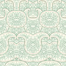 Free Hand-Drawn Henna Mehndi Abstract Pattern. Stock Photo - 36423090