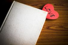 Free Diary Of Love Stock Image - 36426211