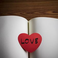 Free Diary Of Love Stock Photos - 36428073