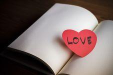 Free Diary Of Love Stock Photos - 36428353