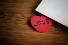 Free Diary Of Love Royalty Free Stock Photos - 36428948