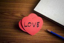 Free Diary Of Love Stock Photo - 36429210