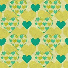 Free Valentines Vector Seamless Pattern Royalty Free Stock Images - 36429919