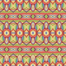 Colorful Oriental Pattern