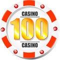 Free Casino Chip Royalty Free Stock Photos - 36430128