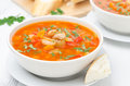 Free Vegetable Soup With White Beans In A Bowl Horizontal Royalty Free Stock Photo - 36435805