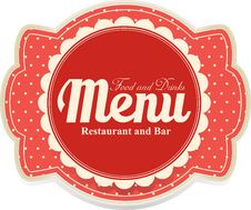 Free Menu Banner Stock Photo - 36430130