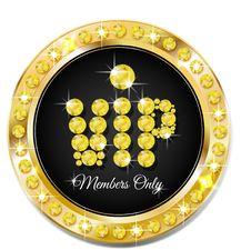 Premium Vip Banner Royalty Free Stock Photos
