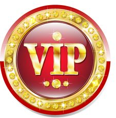 Premium Vip Banner Royalty Free Stock Photography