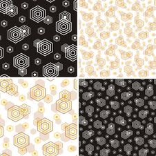 Free Geometric Pattern Royalty Free Stock Image - 36431136