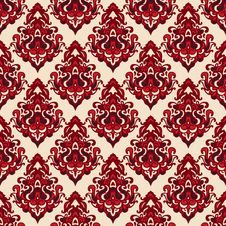 Free Damask Seamless Pattern Oriental Motif Stock Photo - 36431180