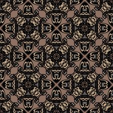 Free Tiled Abstract Vintage Background Royalty Free Stock Images - 36431269