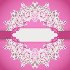Free Pink Frame Holiday Background Stock Photos - 36431303