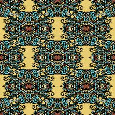 Free Tribal Ethnic Pattern Stock Photo - 36431390