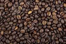 Free Coffee Beans, A Background Royalty Free Stock Photos - 36432028