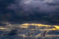 Free Sky Dark Royalty Free Stock Image - 36434636