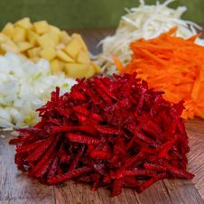 Free Raw Peeled Vegetables For Soup Stock Image - 36436681