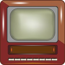 Free TV Vector Eps8 Royalty Free Stock Photos - 36438028
