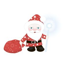 Free Santa Claus. Royalty Free Stock Images - 36438199