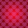 Free Seamless Background With Hearts. Stock Photos - 36442143