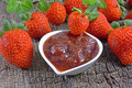 Free Strawberry Jam Royalty Free Stock Photo - 36446305
