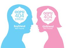 Free Boyfriend And Girlfriend Not Found Stock Images - 36440904
