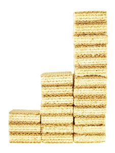 Free Three Step Wafer Stock Image - 36440991