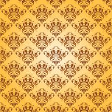 Free Damask Seamless Floral Pattern. Stock Photography - 36442202