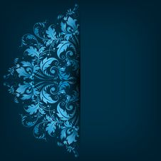 Free Elegant Background With Lace Ornament Royalty Free Stock Images - 36442209