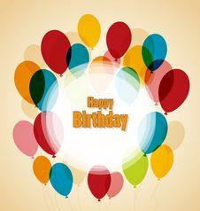 Free Happy Birthday Royalty Free Stock Photo - 36442365