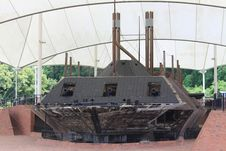 Free USS Cairo Ironclad War Ship Stock Photo - 36445090