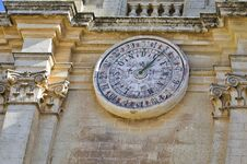 Calendar Clock Royalty Free Stock Images